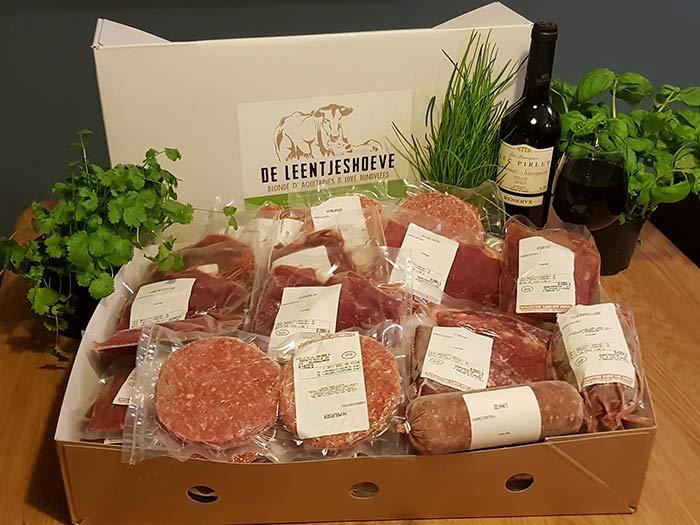 Luxe rundvleespakket 9,5 kg de leentjeshoeve horssen