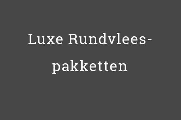 Luxe-Rundvlees pakketten