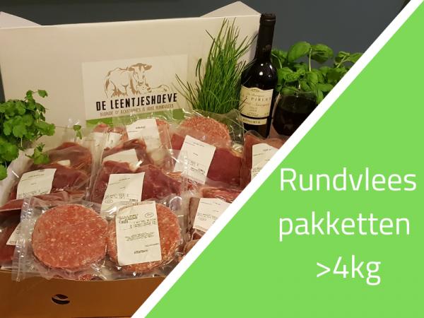 Rundvleespakket 4-10 kg