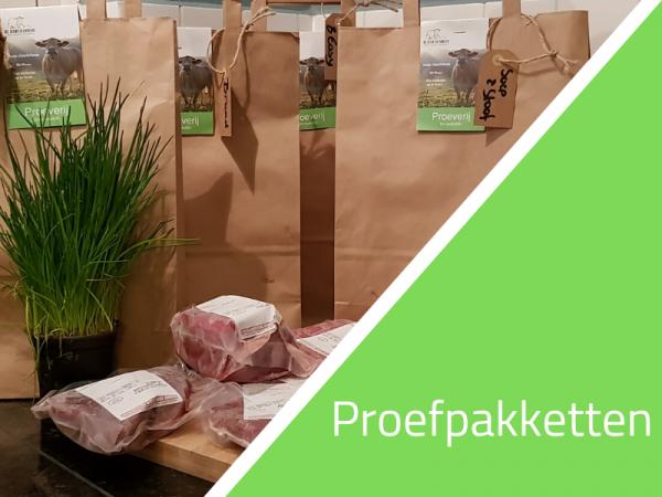 Rundvleespakketten 1 tot 4 kg