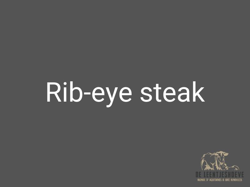 rib eye steak kopen horssen