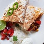 Quesadilla's met luxe rundergehakt van de leentjeshoeve horssen