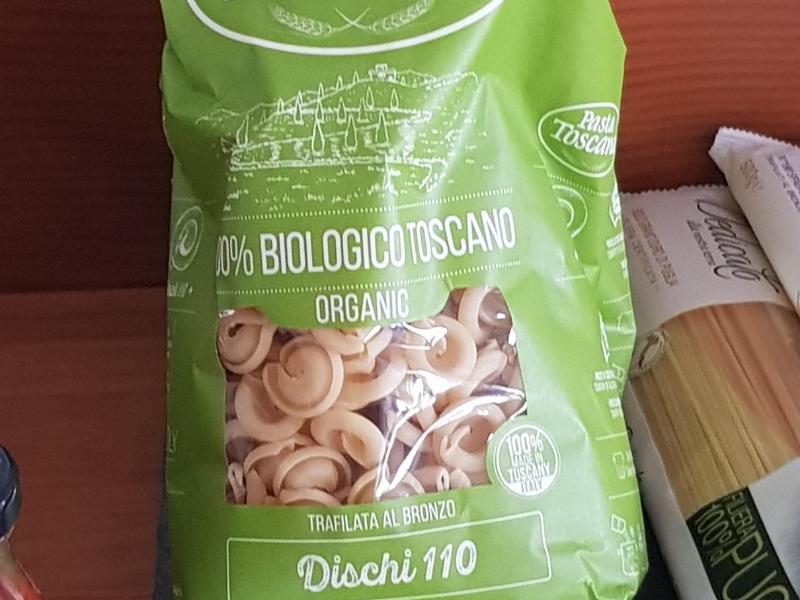 Dischi biologische pasta