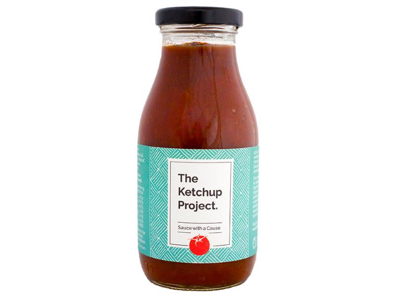 tomatenketchup van zongedroogde tomaten The Ketchup Project